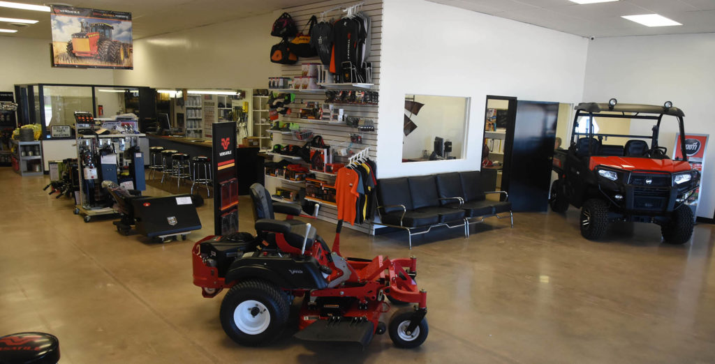 The Tractor Shop Seymour Texas Showroom