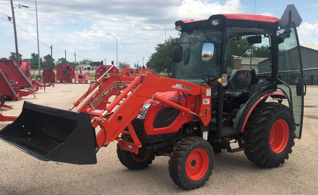 KIOTI CK3510SEHCB Tractor KL4030QA60 Loader