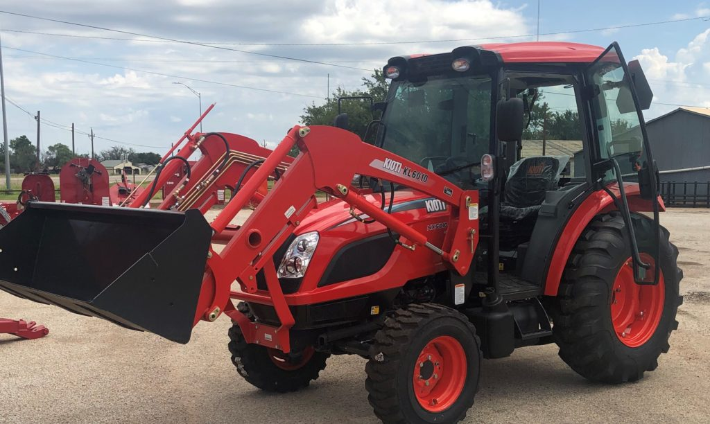 KIOTI NX5010HCB Tractor with a KL6010QA-1 Loader, The Tractor Shop, Seymour, TX