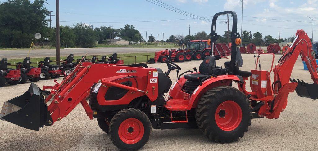 Kioti Tractors, The Tractor Shop, Seymour, Texas