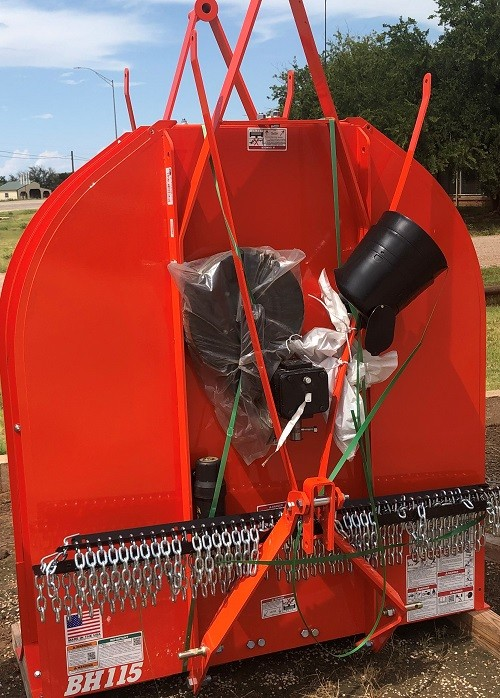 BUSH HOG MODEL: CBH115FB 5ft Cutter- Orange