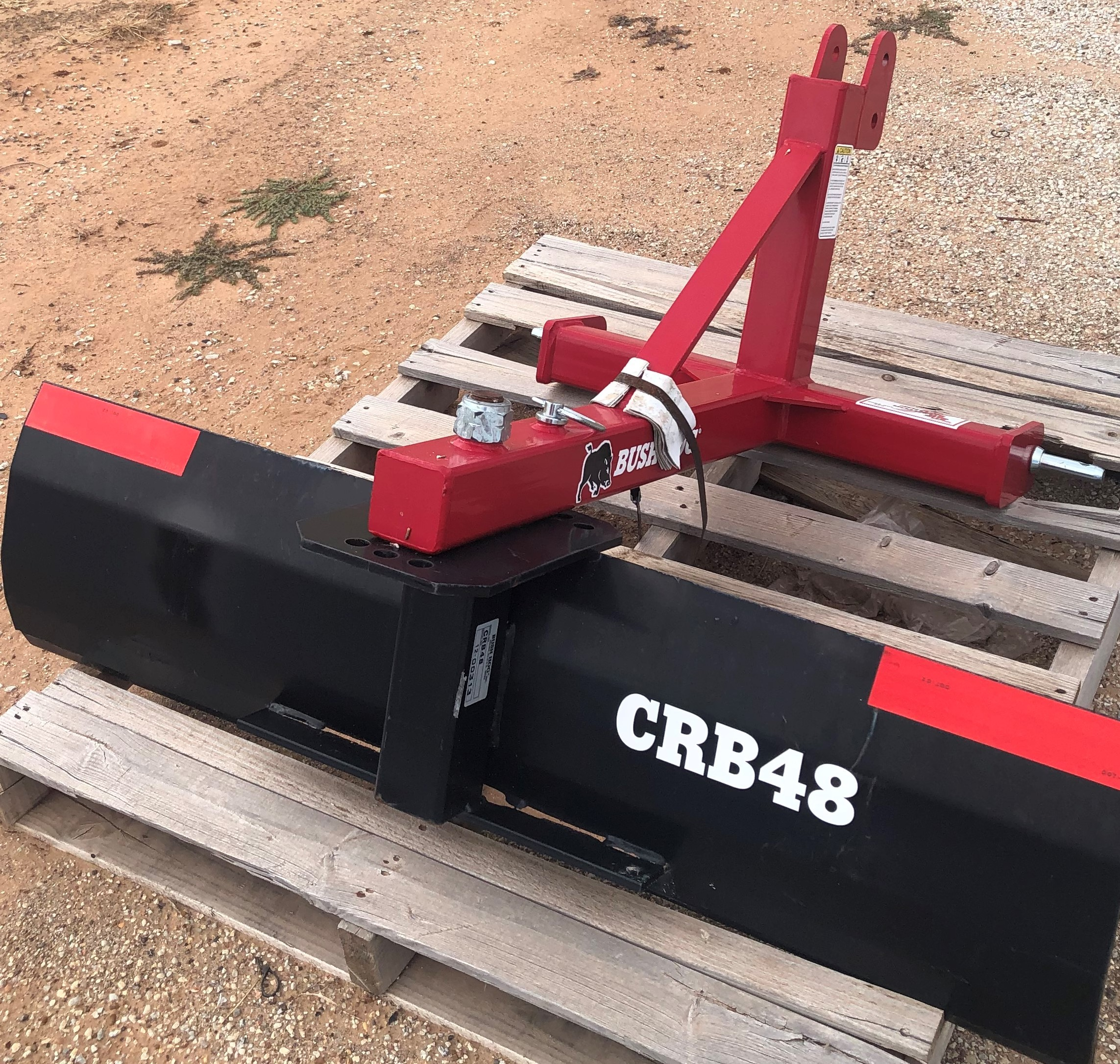 BUSH HOG MODEL: CRB48-01 48in Box Blade