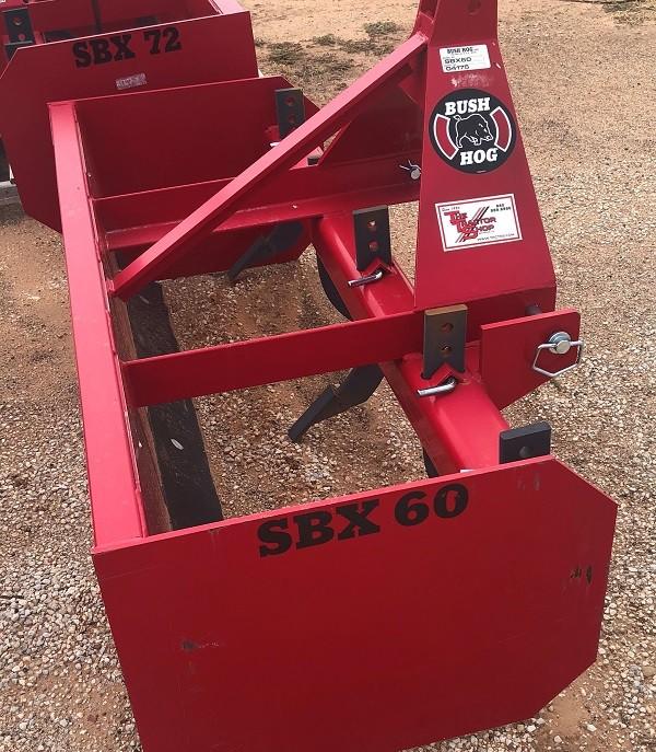 BUSH HOG MODEL: SBX60-01 60in Box Blade